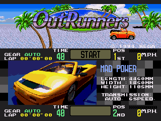 Обложка игры OutRunners