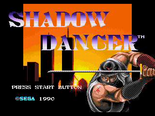 Обложка игры Shadow Dancer - The Secret of Shinobi (Sega Mega Drive - gen)