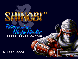 Обложка игры Shinobi III - Return of the Ninja Master (Sega Mega Drive - gen)