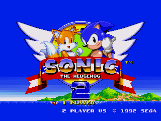 Обложка игры Sonic The Hedgehog 2 (Sega Mega Drive - gen)