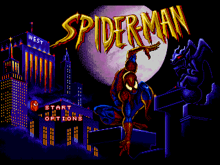 Обложка игры Spider-Man - The Animated Series (Sega Mega Drive - gen)