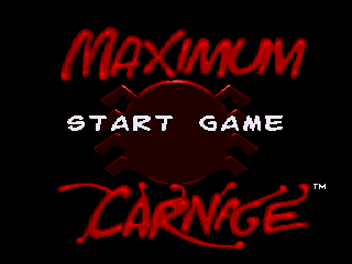 Обложка игры Spider-Man and Venom - Maximum Carnage (Sega Mega Drive - gen)