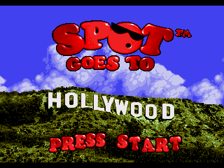 Обложка игры Spot Goes to Hollywood (Sega Mega Drive - gen)