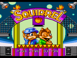 Обложка игры Squirrel King (Sega Mega Drive - gen)