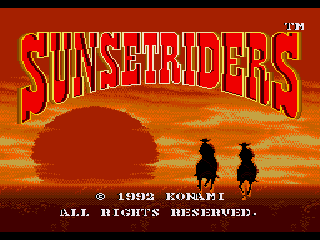 Обложка игры Sunset Riders (Sega Mega Drive - gen)