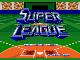 Обложка игры Super League (Sega Mega Drive - gen)