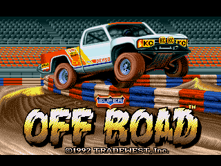 Обложка игры Super Off Road (Sega Mega Drive - gen)