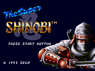 Обложка игры Super Shinobi II, The (Sega Mega Drive - gen)