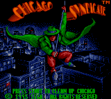 Обложка игры Chicago Syndicate (Game Gear - gg)