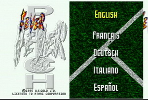 Обложка игры Fever Pitch Soccer (Atari Jaguar - jag)