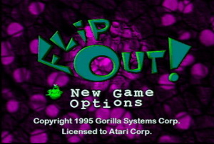 Обложка игры Flip Out (Atari Jaguar - jag)