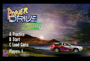 Игра Power Drive Rally (Atari Jaguar - jag)