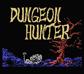 Обложка игры Dungeon Hunter (Machines with Software eXchangeability - msx1)