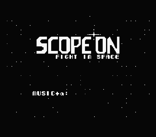 Обложка игры Scope On (Machines with Software eXchangeability - msx1)
