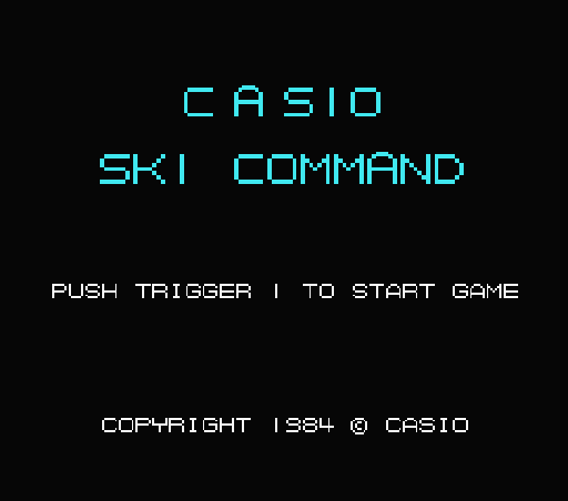 Обложка игры Ski Command (Machines with Software eXchangeability - msx1)