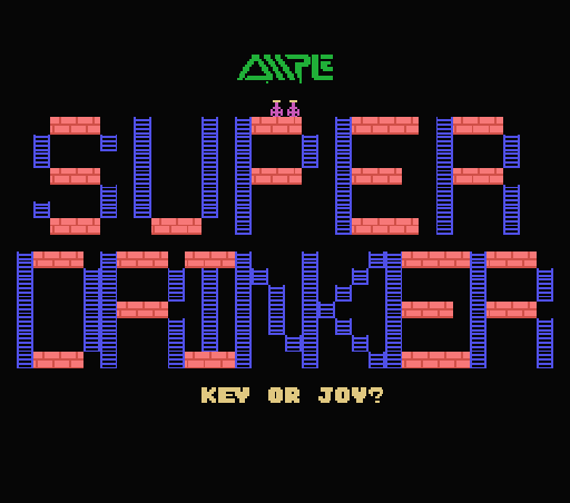 Обложка игры Super Drinker (Machines with Software eXchangeability - msx1)