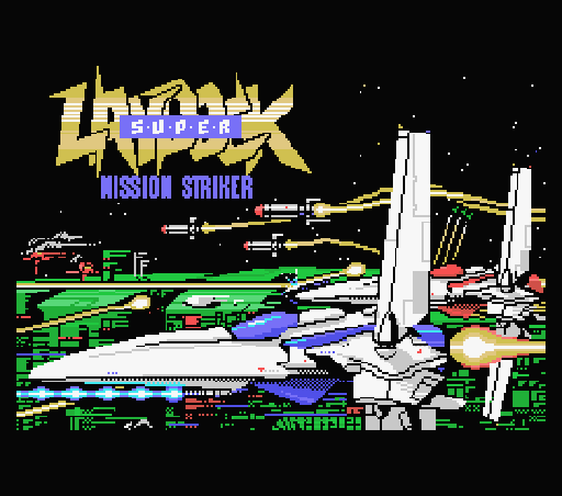 Обложка игры Super Laydock Mission Striker (Machines with Software eXchangeability - msx1)