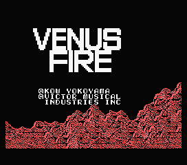 Обложка игры Venus Fire (Machines with Software eXchangeability - msx1)