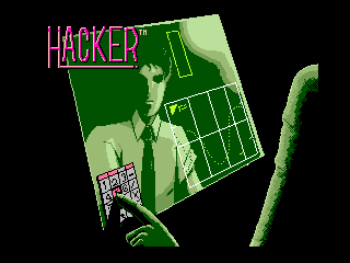 Обложка игры Hacker (Machines with Software eXchangeability 2 - msx2)