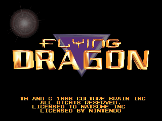 Игра Flying Dragon (Nintendo 64  - n64)