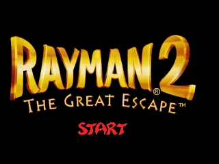 Обложка игры Rayman 2 - The Great Escape ( - n64)