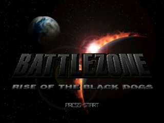 Обложка игры Battlezone - Rise of the Black Dogs