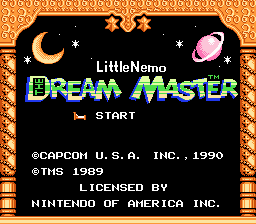 Игра Little Nemo - The Dream Master (Dendy - nes)