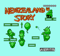 Обложка игры New Zealand Story, The (Dendy - nes)