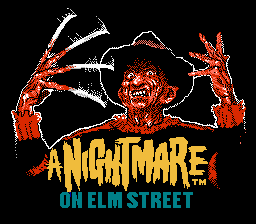 Обложка игры Nightmare on Elm Street, A (Dendy - nes)