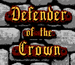 Обложка игры Defender of the Crown (Dendy - nes)