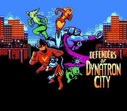 Обложка игры Defenders of Dynatron City (Dendy - nes)
