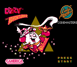 Обложка игры Dizzy The Adventurer (Dendy - nes)