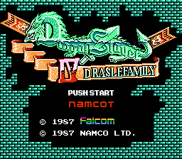 Обложка игры Dragon Slayer 4 - Drasle Family (Dendy - nes)