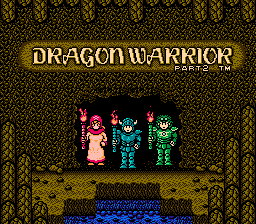 Обложка игры Dragon Warrior II (Dendy - nes)
