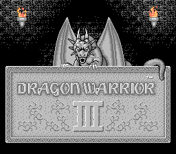 Обложка игры Dragon Warrior III (Dendy - nes)