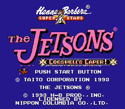 Обложка игры Jetsons, The - Cogswell's Caper!
