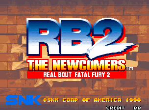 Обложка игры Real Bout Fatal Fury 2 - The Newcomers (Neo Geo - ng)