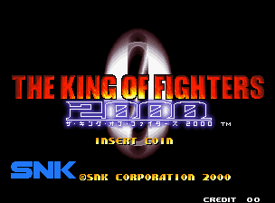 Обложка игры The King of Fighters 2000 (Neo Geo - ng)