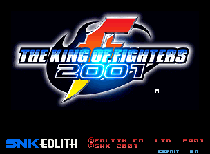 Обложка игры The King of Fighters 2001 (Neo Geo - ng)