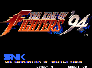 Обложка игры The King of Fighters