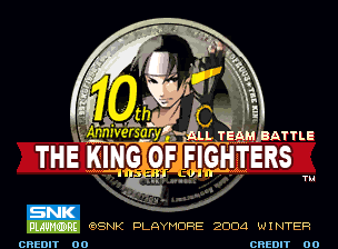 Обложка игры The King of Fighters 10th Anniversary  (Neo Geo - ng)