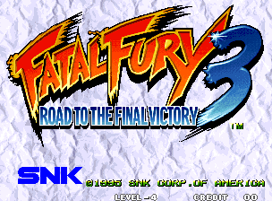 Обложка игры Fatal Fury 3 - Road to the Final Victory (Neo Geo - ng)