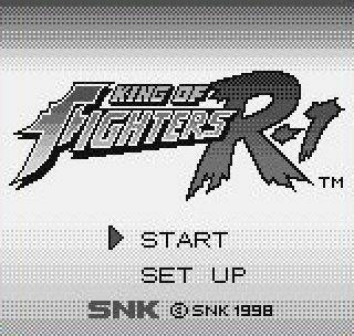 Обложка игры King of Fighters R-1