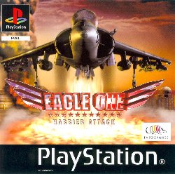 Обложка игры Eagle One Harrier Attack ( - ps1)