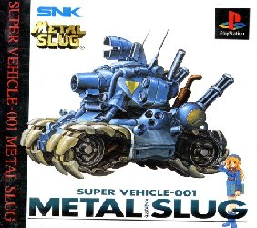 Обложка игры Metal Slug - Super Vehicle 001