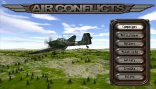 Обложка игры Air Conflicts: Aces of World War II (PlayStation Portable - psp)