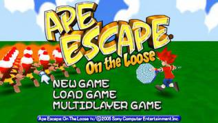 Обложка игры Ape Escape: On the Loose (PlayStation Portable - psp)