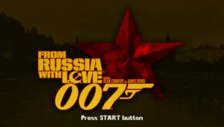 Обложка игры 007 - From Russia with Love ( - psp)