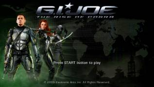 Обложка игры G.I. Joe: The Rise of Cobra