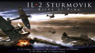 Обложка игры IL-2 Sturmovik: Birds of Prey ( - psp)